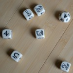 The dice. Rolled.