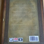 The back of the slipcover case.