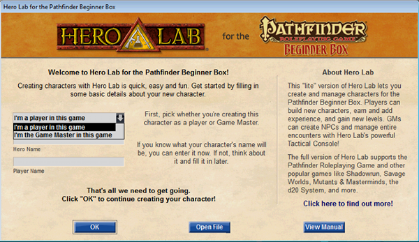hero lab crack pathfinder store