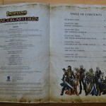 Rise of the Runelords Table of Contents