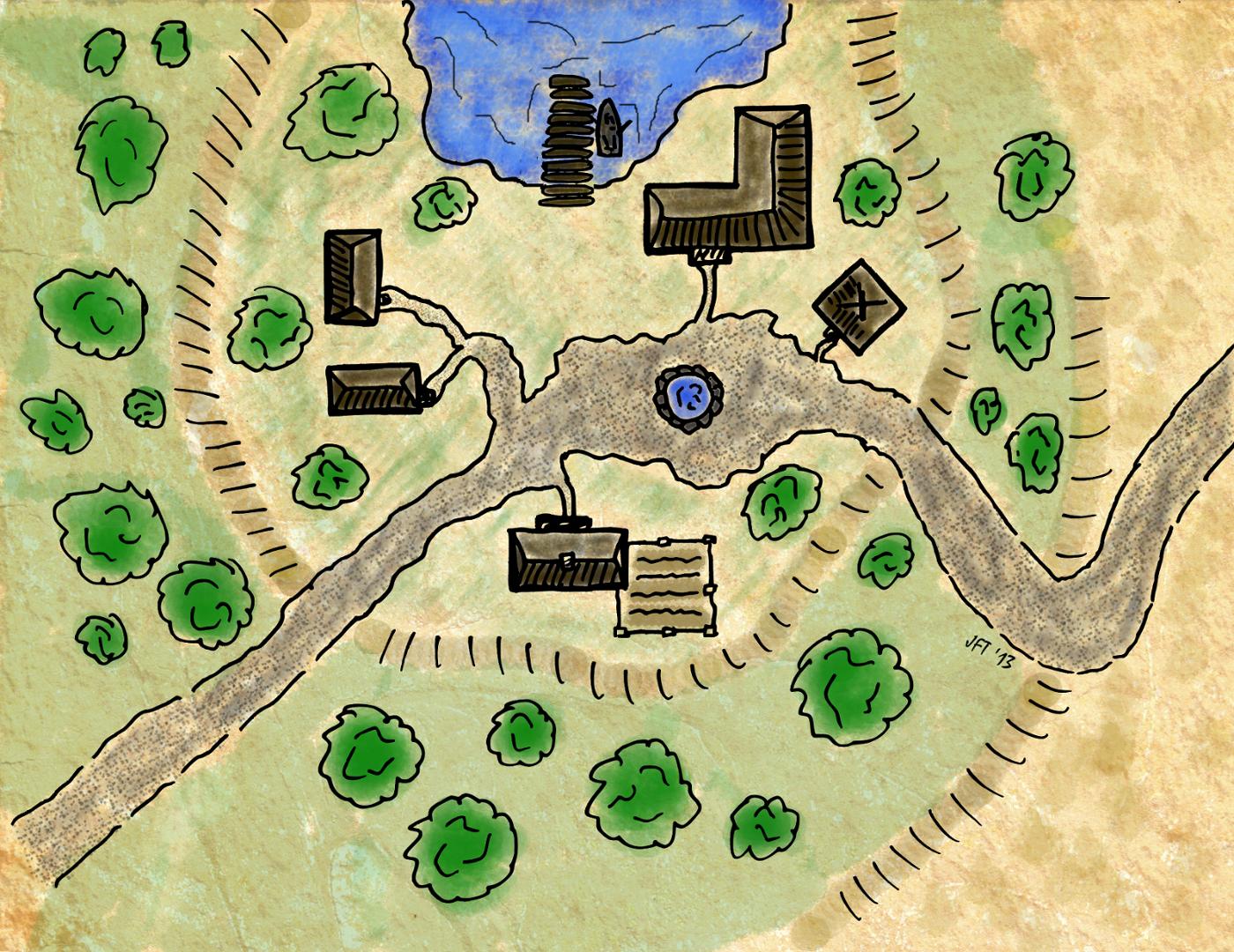 Deerpond Village