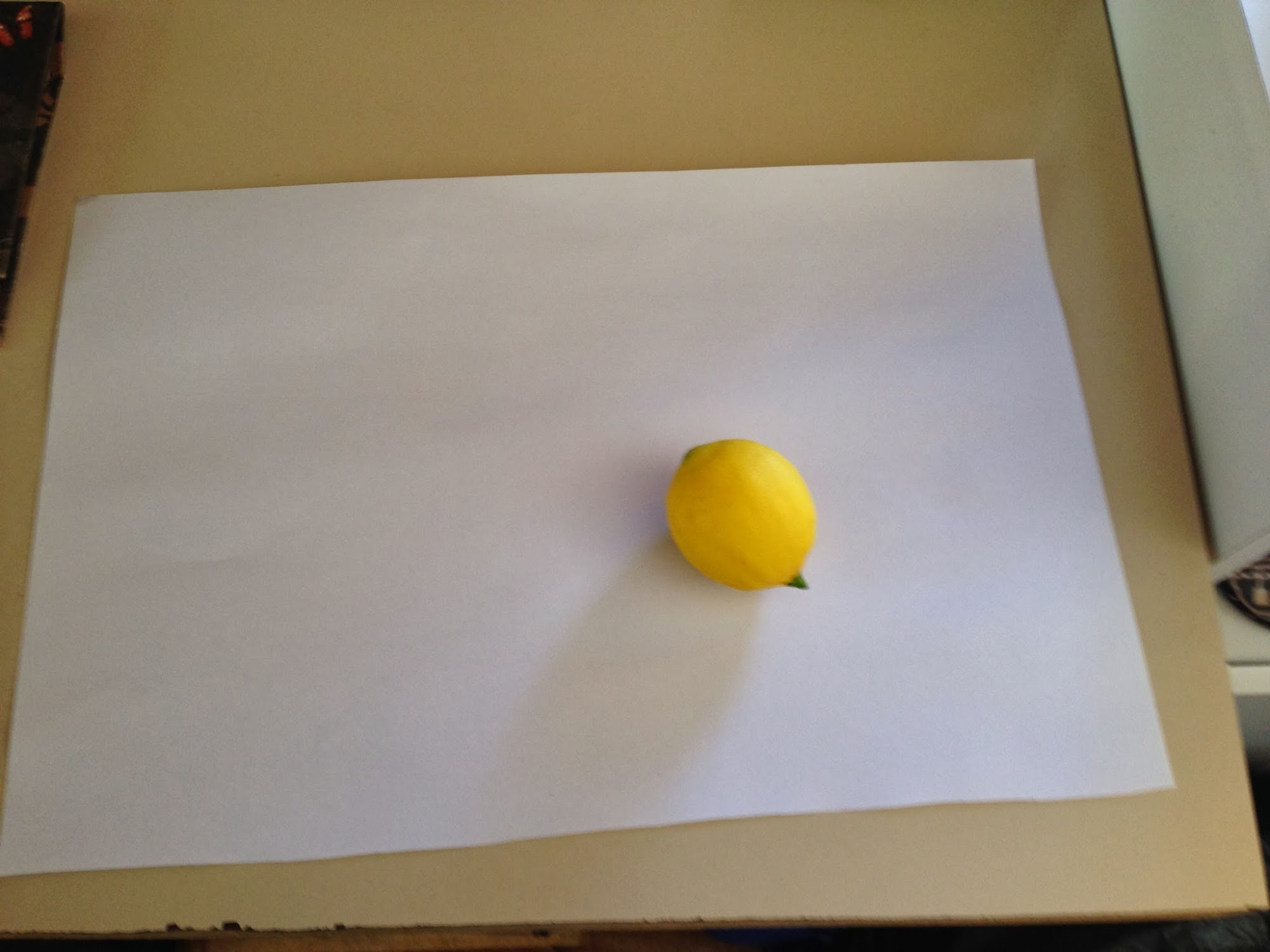 The Lemon And the Paper