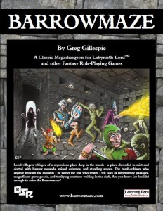 Barrowmaze Cover