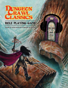 DCC RPG Rulebook Cover w-Headphones