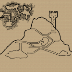Side View Map with Level Detail