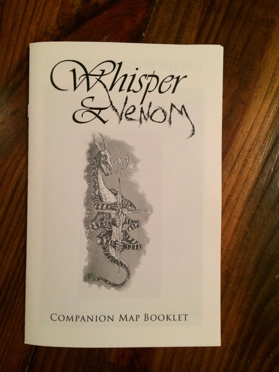 Companion Map Booklet Cover