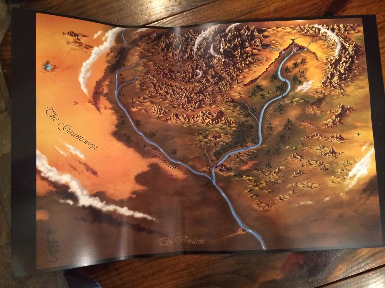 Map Insert - Overland