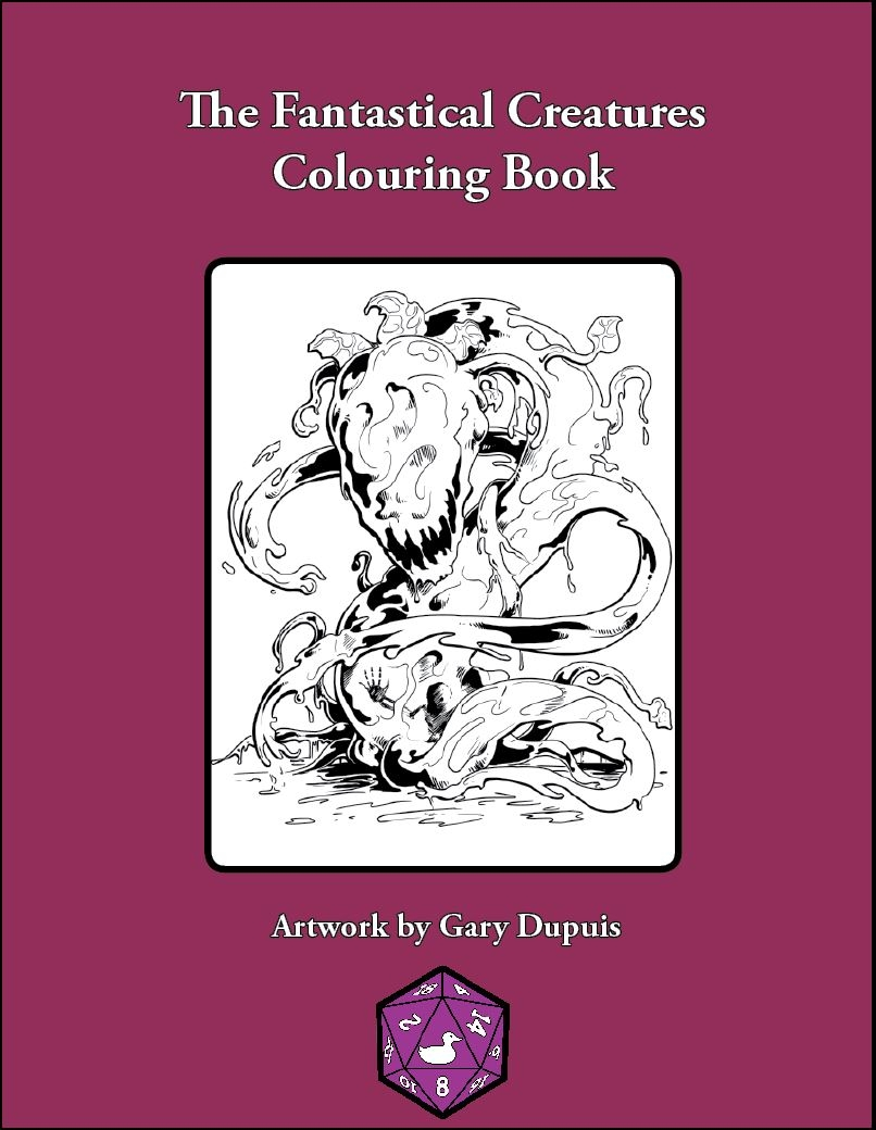 The Fantastical Creatures Colouring Book