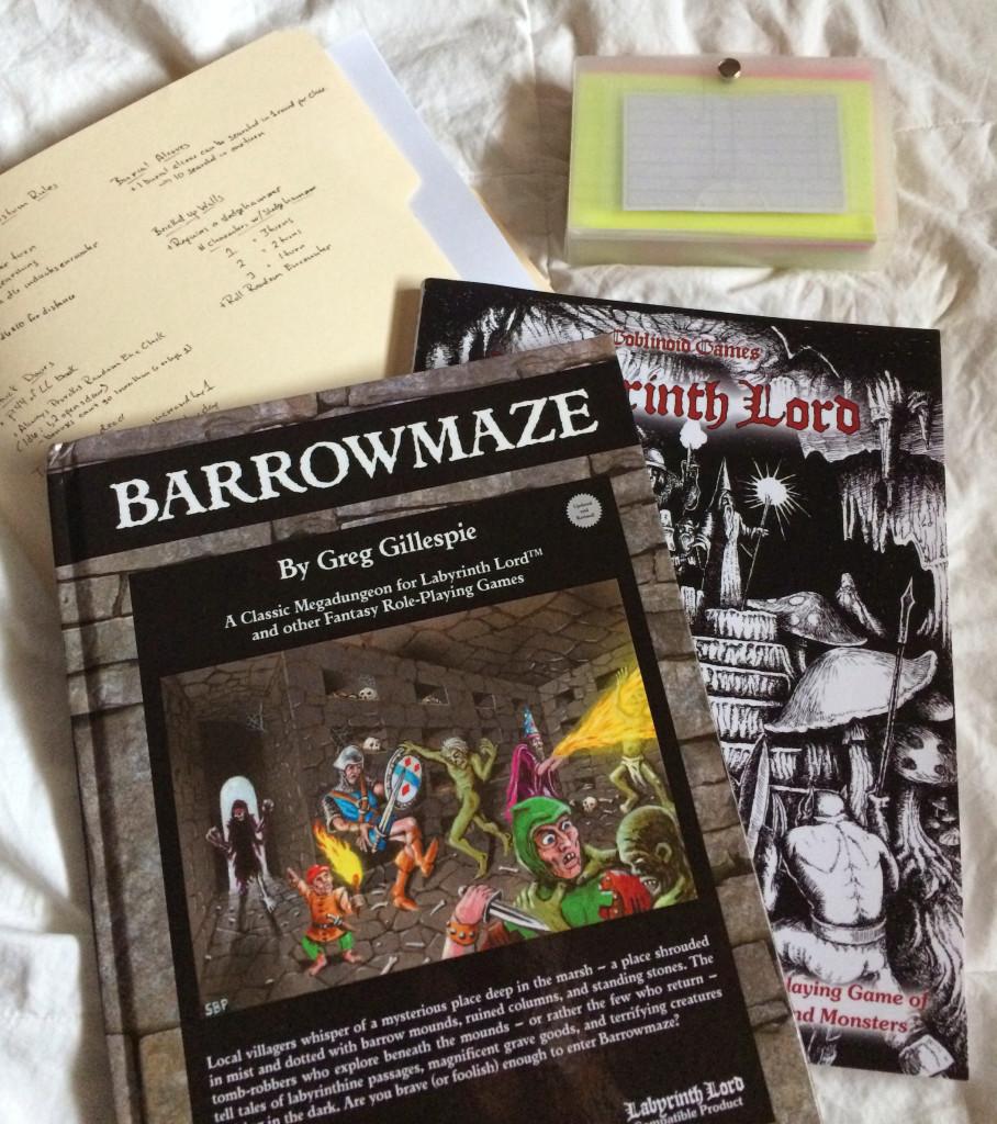 barrowmaze_prep