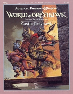 Castle Greyhawk Cover