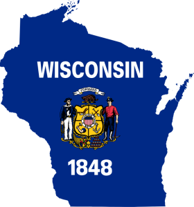 Flag_map_of_Wisconsin