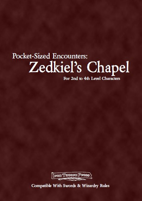 Zedkiel's Chapel Cover
