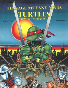 Teenage Mutant Ninja Turtles and Other Strangeness Cover